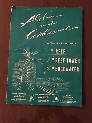 Vintage Aloha and Welcome, Reef, Reef Tower, Edgewater Services and Facilities