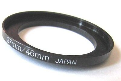 37mm-46mm Metal Adapter Stepping Step Up Ring 37 mm Lens 46 mm Japan 37-46 Step