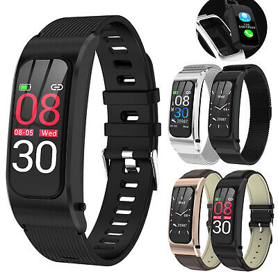 2 in 1 Sport Bracelet Bluetooth SmartWatch Sport Fitness Tracker For Android iOS