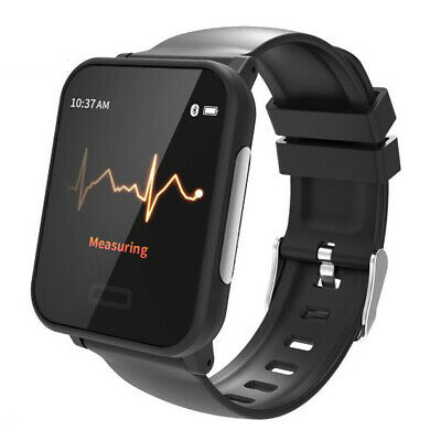 Waterproof ECG Heart Rate Monitor Smart Watch Sleep Monitor Call SMS Reminder