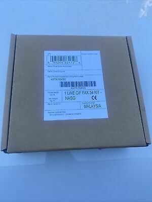 Xerox 497K16430 I Series 1 Line Fax Kit for sale online