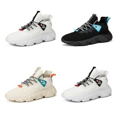 Mens Sports Shoes Breathable Running Walking Casual Athletic Sneaker UK 6.5-9.5
