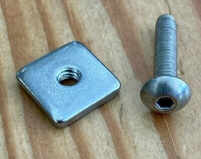 One Size Quick Fit Fin Nut /& Bolt Red Paddle Co. M4 US Box