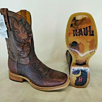 Men's Tin Haul Rough Rider Boots With T-Rex Sole Handcrafted