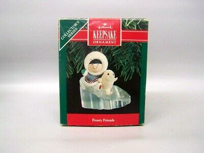 """1990 Hallmark """"Frosty Friends"""" 11th in the Series"""