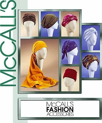 Reduced! McCall's 4116 OOP WOMENs HATS TURBANs HEADWRAPS etc.