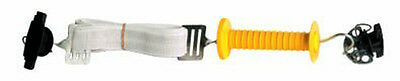 1 x 5m Electric Fencing TAPE GATE KIT with Handle & Activator Anchor