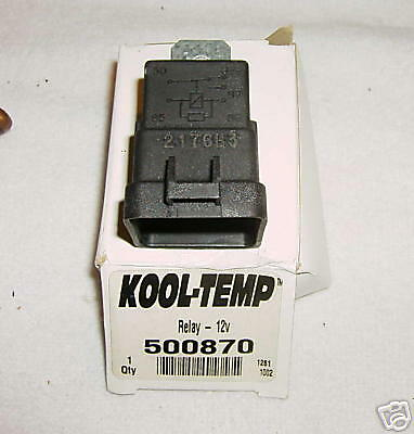 Kool Temp Relay 12 Volt 500870 Weathrproof RV HVAC