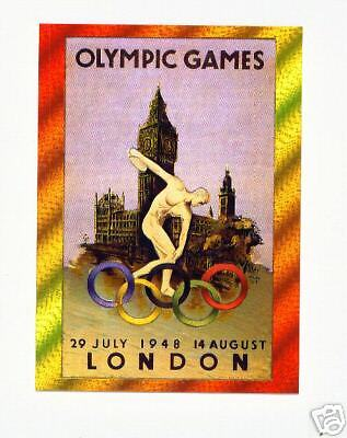 1996 Centennial Olympic Games ~ Dufex ~ Poster Card #9