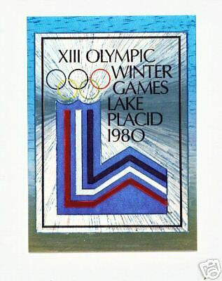 1996 Centennial Olympic Games ~ Dufex ~ Poster Card #17