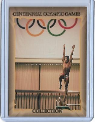 1996 Centennial Olympic Games Greg Louganis Diving Card #33 ~Multiples Available
