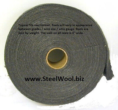 5lb Steel Wool Reel # 4 - Extra Coarse