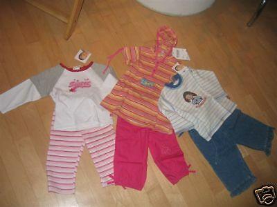 6 Teiliges Baby-Paket GIRL  NEUWARE GR. 80 Top!!