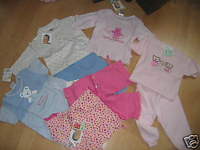 8 Teiliges Baby-Paket GIRL  NEUWARE GR. 68 Top!!
