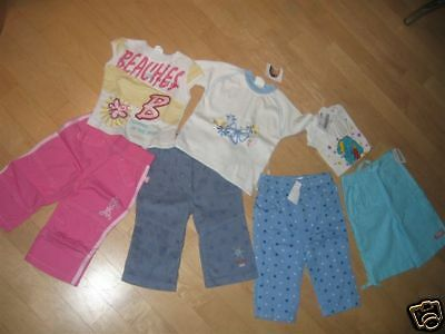 7 Teiliges Baby-Paket GIRL  NEUWARE GR. 74 Top!!