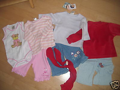 8 Teiliges Baby-Paket GIRL  NEUWARE GR. 62 Top!!