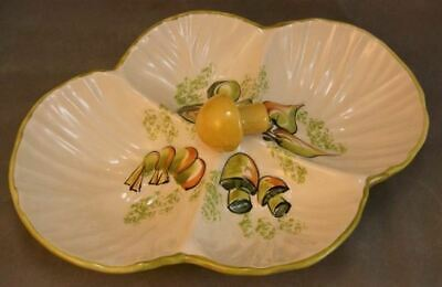 Los Angeles Divided Shell Vegetable Serving Platter EXC