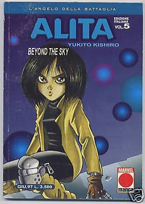 Alita N. 5 Originale Planet Manga