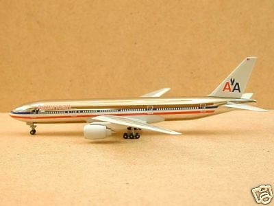 American Airlines B777-200 Chrome Version, Dragon Wings
