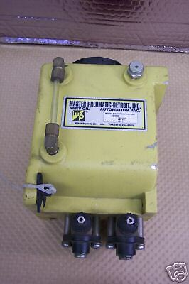 MASTER PNEUMATIC 7300000 LUBRICATOR RESEVOIR NEW CONDITION NO BOX