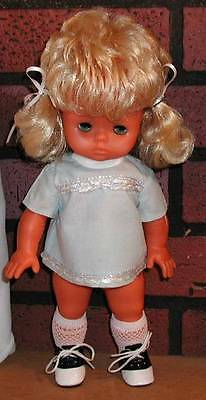 CUTE ROOTED BLONDE PIGTAILS ON THIS CUTE DOLL AND A TAN