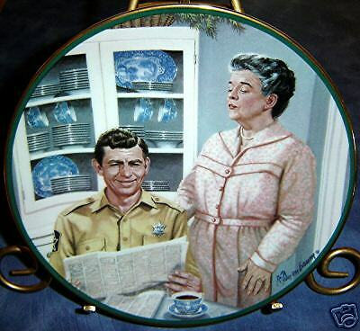ANDY Aunt Bee's Kitchen~The Andy Griffith Show Plate!