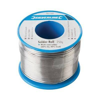 Solder Wire Large 250 Gram Reel 1 mm Genuine Traditional  Fluxed  Soldering