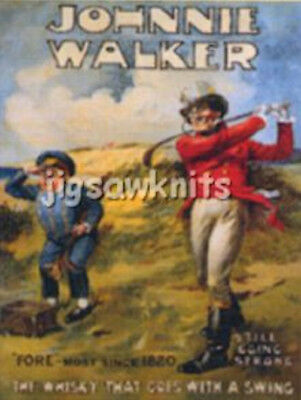Johnnie Walker Whisky - Advertising Postcard