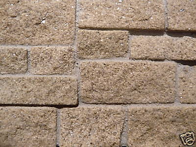 100 Sq Ins Rough Faced Yorkshire Stone Facing Slips