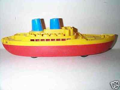 RENWAL 1950'S LARGE OCEAN LINER CRUISE SHIP TOY BOAT