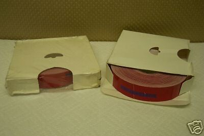 "General Rubber 1054-70 Red Tape Roll 1""x150' (Set Of 2) New In Box"