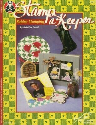 Stamp a Keeper Rubber Stamping Designs NEW Booklet