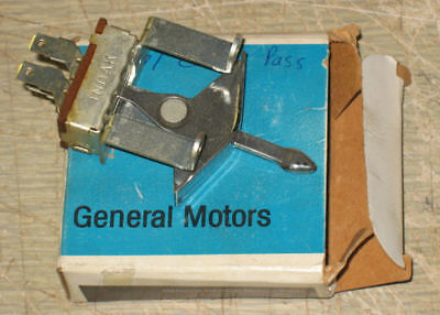 NOS 1951-52 Chevy HEATER FAN BLOWER SPEED CONTROL SWITCH New Old Stock 3129869