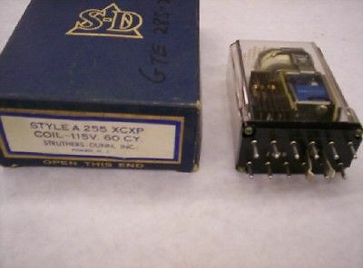 Struthers & Dunn Latching Relay A255XCXP 110V Coil
