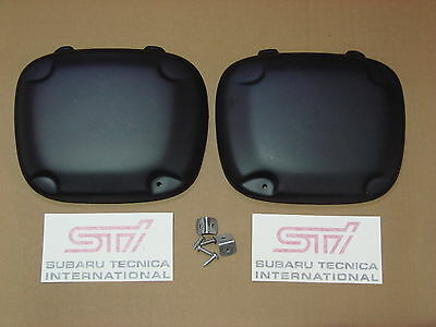 SUBARU IMPREZA FOG, SPOT LAMP COVERS 2001-2002 BUGEYE. HT Autos UK.