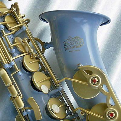 JBoy Air Force Grey Bb TENOR SAX • New Saxophone • With Case and Accessories •