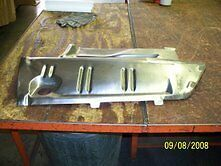 1973-74 Charger Trunk Extension Filler Panel Pass Side
