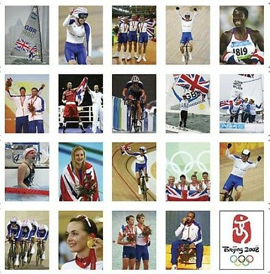 Beijing Olympic Games Team GB Trading Card Set