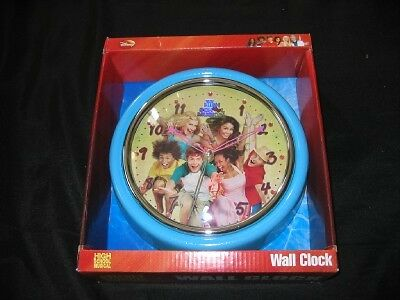 NEW Disney HIGH SCHOOL MUSICAL Glitter Wall Clock NWT