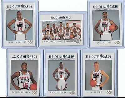 1992 Us Olympic Dream Team Card Set W/ Michael Jordan ~ Multiples Available