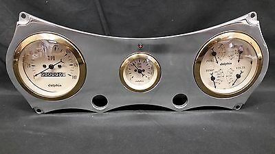 64 65 CHEVELLE  GAUGE CLUSTER GOLD
