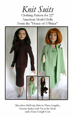 AM103 Knit Suits Pattern for American Model Tonner