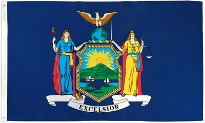 State Of New York 3X5' Flag New 3'x5' 3 X 5 Feet Big Ny