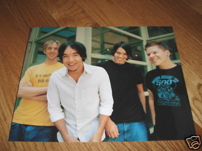 Hoobastank Sexy Cool 8x10 Color Band Promo Photo #3