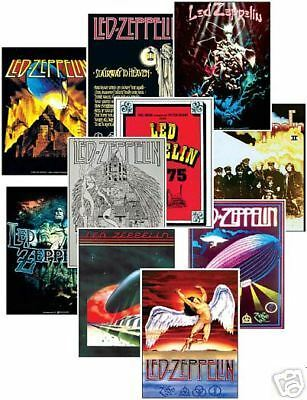 Led Zeppelin Concert Posters Trading Card Set