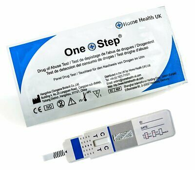 3 x Cocaine Drug Test Home Urine Testing Kits Crack PANEL Work Tests ONE STEP