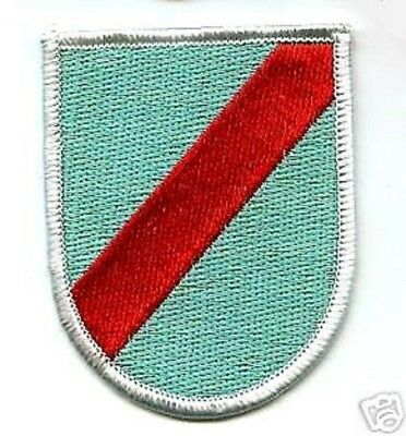 Us Army 20Th Special Forces Group Airborne Beret Crest Iron-On Patch