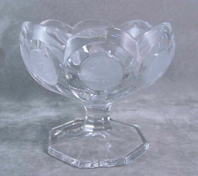 Fostoria Coin Glass Open Jelly/Jam Compote Bowl Lovely