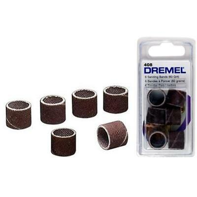 Dremel 408 Sanding Band for 407 Coarse 60 Grit Pack of 6 by tyzacktools