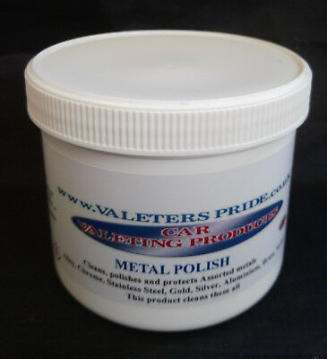 Classic Car Metal Polish Cleans All Metals Professionally 500ml Size